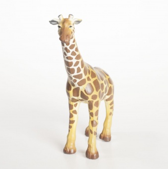 Giraff i naturgummi