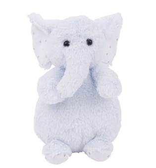 Gosedjur elefant - Charlie Elephant tiny, blå