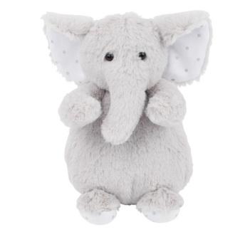 Gosedjur elefant - Charlie Elephant tiny, grå
