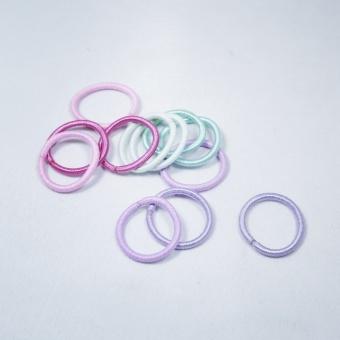 Elastics Mini pastel gitter