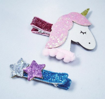 Clips unicorn set