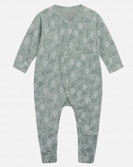 Heldress pyjamas Mulle (bambu-Dusty-Jade)