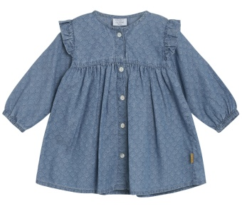 Klänning baby Katri (Washed denim)