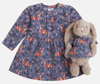 Klänning med dockklänning (Blue Flint)
