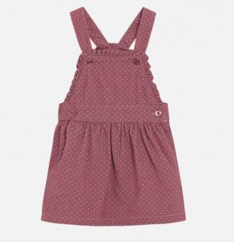 Klänning baby hängselklänning (Pale mauve)