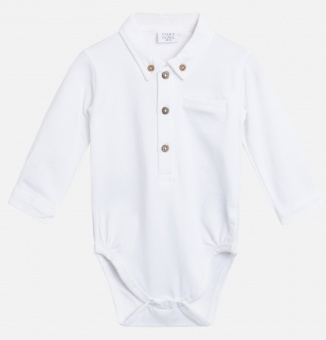 Body skjortbody Basil (White)