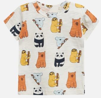 T-shirt med djurtryck