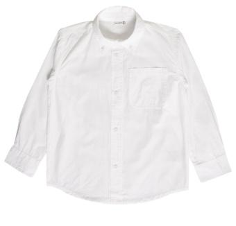 Skjorta vit (poplin)