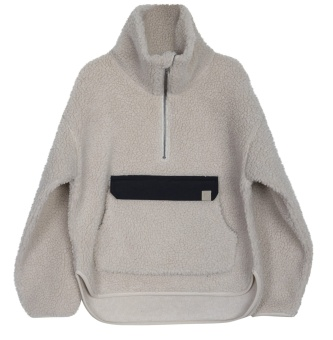 Jacka - Anorak Perry Pile cold-beige