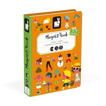 Magnetpussel/spel 4 årstider