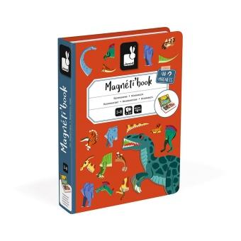 Magnetpussel/spel Dinosaurie
