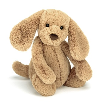Gosedjur Hund - Bashful toffee puppy small