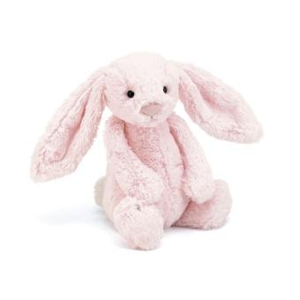Kanin - Bashful Bunny Pink (Storlek: Baby 13 cm)