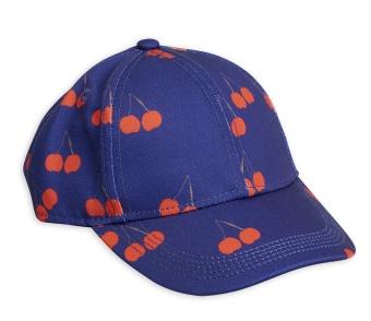 Keps Cheery printed cap Blue