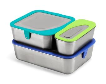 Matlådor Stål Food box set - multi color mix