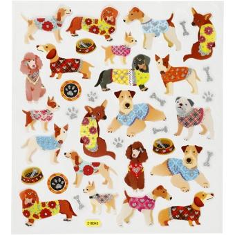 Klistermärken - hundar