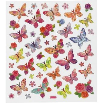 Klistermärken - fjärilar