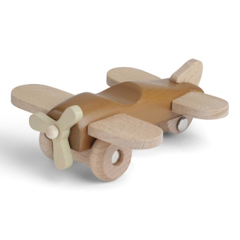 Flygplan i trä Almond