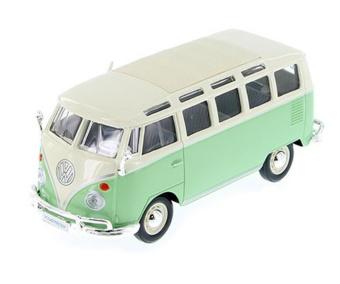 VW Buss Samba Van stor skala 1:24