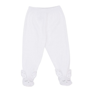 Byxa - Bunny Pants white