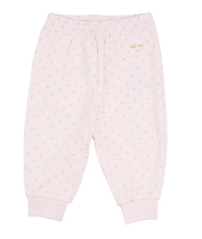 Byxa, Saturday Pants rosa/guld