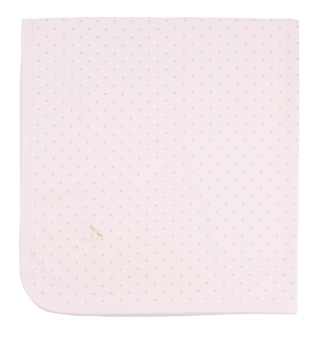 Filt, Saturday blanket Rosa/guld