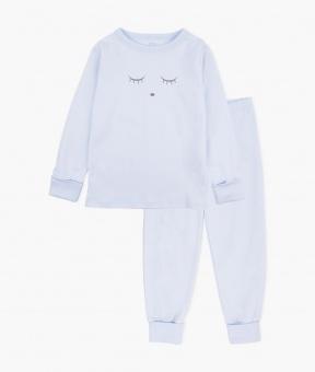 Pyjamas - Sleeping Cutie Blå/Grå 2-delar