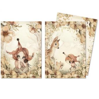 2-pack kort - Floral Glade