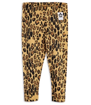 Basic leopard leggings