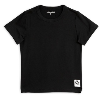 T-shirt Basic black (Tencel)