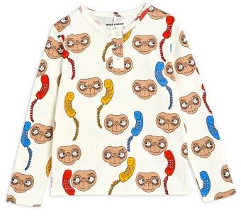 Tröja - E.T. aop grandpa Offwhite