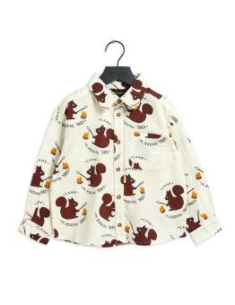 Skjorta - Flanell shirt (Offwhite)