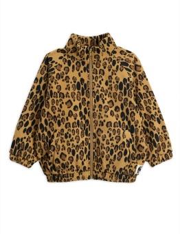 Jacka - Leopard fleece (Beige)