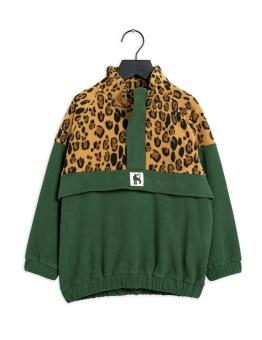 Tröja - Fleece zip pullover (Green)