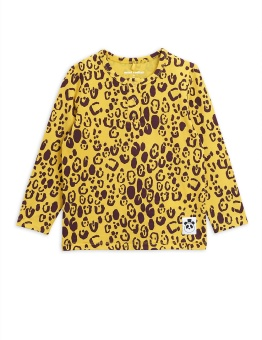 Tröja - Leopard grandpa yellow (tencel)