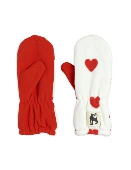Vantar - Hearts fleece (Offwhite)