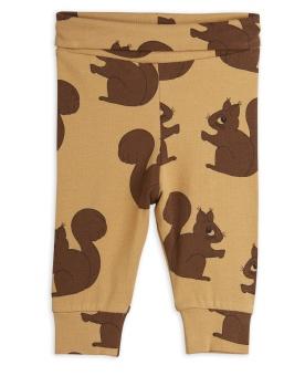 Leggings NB Squirrel aop (Brown)