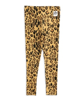 Leggings Basic leopard (Tencel)