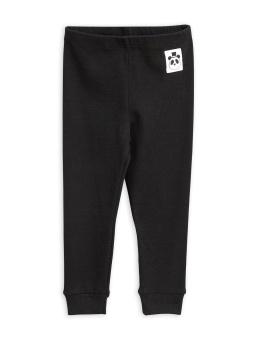 Leggings - Solid Rib Black