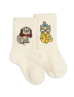 Strumpor - Minibaby socks white single Offwhite