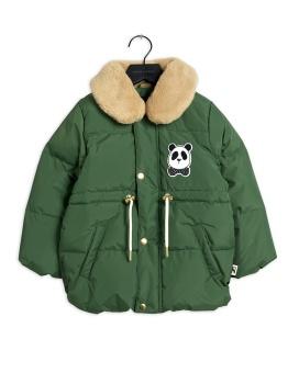 Jacka - panda puffer (Dark Green)