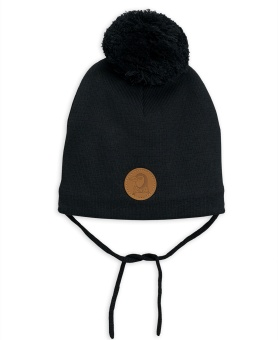 Mössa Penguin hat Black