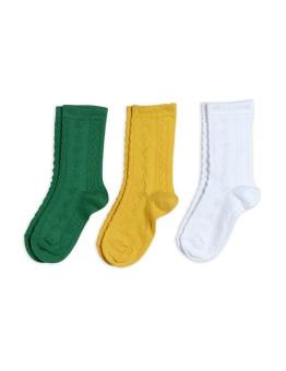 Strumpor 3-pack -Pointelle socks (Multi)