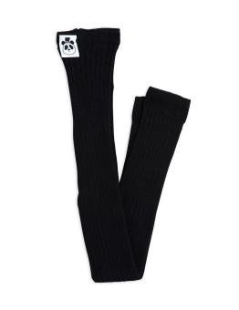 Leggings - Ribbed leggings Black