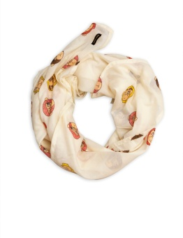 Sjal/filt - Monkey scarf