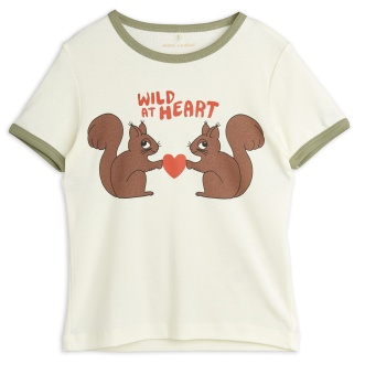 T-shirt Wild at heart Offwhite)