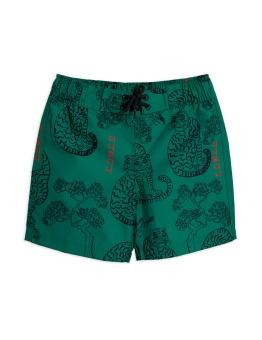 Badbyxa - Tigers swim shorts Green