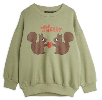 Tröja Wild at heart sweatshirt (Green)