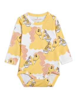 Body - Unicorn noodles aop ls body Yellow