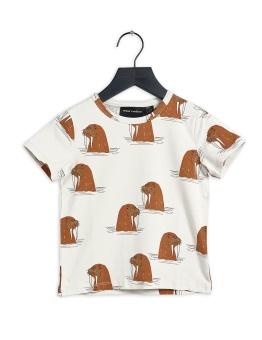 T-shirt - Walrus aop ss tee Grey